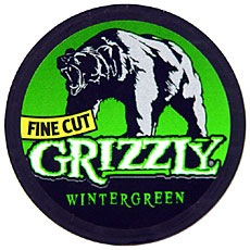 GRIZZLY FINECUT WINTERGREEN ROLL/5