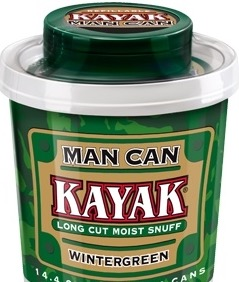 KAYAK LONGCUT WINTERGREEN MAN CAN