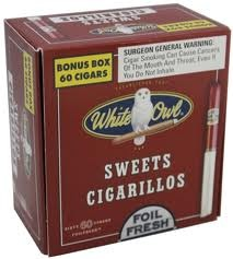 WHITE OWL CIGARILLO SWEET BOX/60