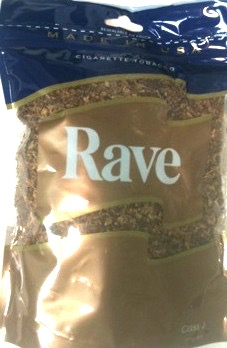 RAVE GOLD 8 OZ PACKAGE
