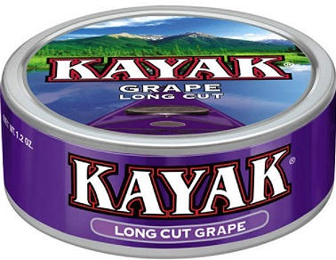 KAYAK LONGCUT GRAPE BOX/10 $1.29