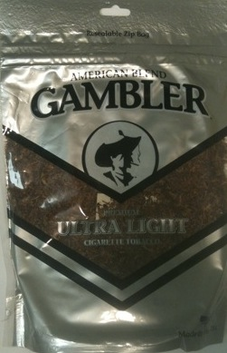 GAMBLER ULTRA LIGHT 6OZ BAG
