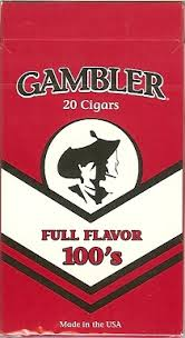 GAMBLER FILTER CIGAR FF BOX 100 CTN