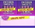 SWISHER MINI CIG GRAPE 20/6 PK