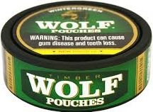 TIMBER WOLF WINTERGRN POUCHES ROLL5