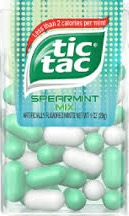 TIC TAC SPEARMINT BOX/12