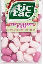 Tic tac strawberry fields box/12