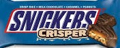SNICKERS CRISPER BAR BOX/18