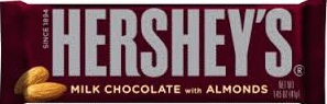 HERSHEY ALMOND BOX/36