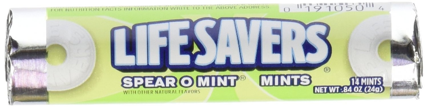 LIFE SAVERS SPEAR O MINT BOX/20