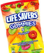 LIFE SAVERS GUMMI FIVE FLAVOR BOX18