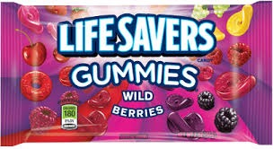LIFE SAVERS GUMMI WILD BERRIES SHARE SIZE