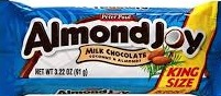 ALMOND JOY KING SIZE BOX/18