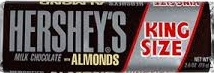 HERSHEY BIG BLOCK ALMOND BOX/18