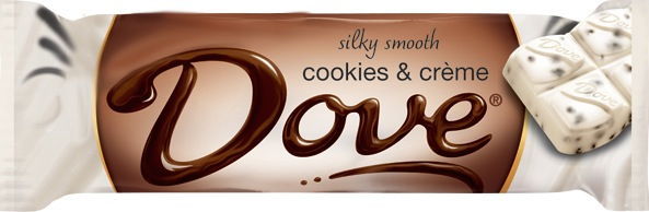 DOVE COOKIE N CREME BOX/18