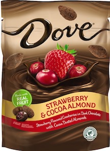 DOVE STRAW/ALMOND BOX 8/5.5 OZ