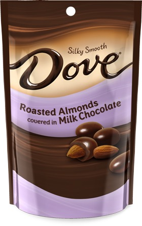 DOVE MILK CHOC ALMONDS 12/4.5OZ