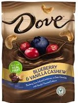 DOVE BLUEBRY/CASHEW BOX/8 5.5 OZ