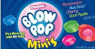 CHARMS BLOW POP MINIS BOX/24