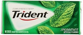 TRIDENT SPEARMINT VALU PACK