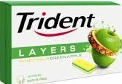 TRIDENT LAYERS APPLE/PNAPPLE BOX/12