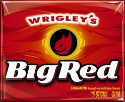 WRIGLEY BIG RED SLIM PACK