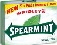 WRIGLEY SPEARMINT SLIM PACK