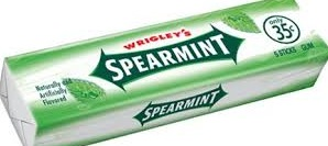 WRIGLEY SPEARMINT TWIN PACK