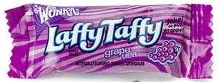 LAFFY TAFFY JAR SOUR GRAPE JAR/165