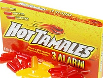 HOT TAMALE 25¢ BOX/24 3 ALARM