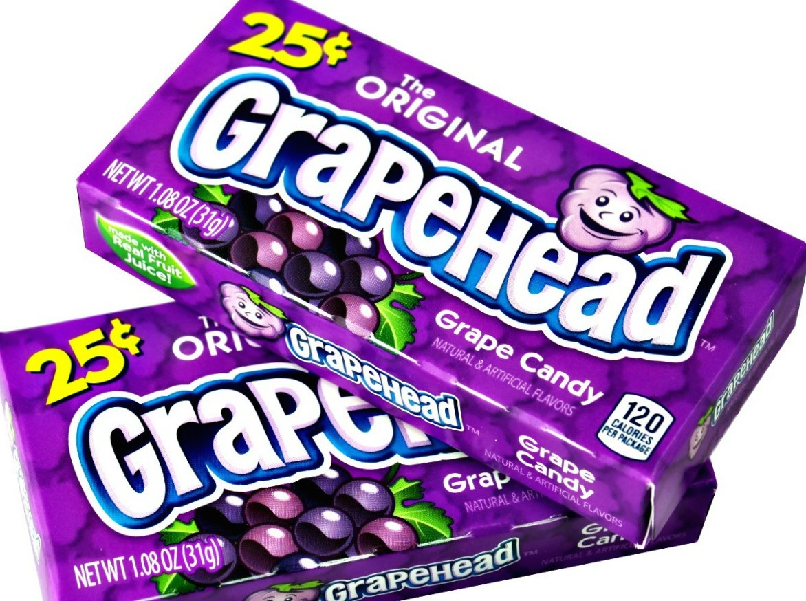 GRAPE HEAD 25¢ BOX/24