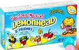 LEMON HEAD TROPICAL CHEWY 25 CENT