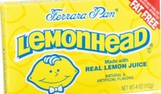 LEMON HEAD LARGE BOX/24