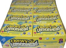 LEMON HEAD BLUE RASP CHEWY 25 CENT