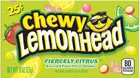 LEMON HEAD CITRUS CHEWY .25