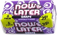NOW OR LATER SOFT GRAPE BOX 24/.25