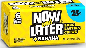 NOW OR LATER BANANA BOX/24