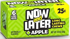 NOW OR LATER APPLE BOX/24