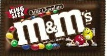 M & M PLAIN KING SIZE BOX/24