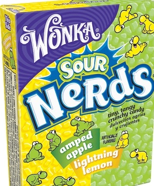NERDS SOUR LEMON/APPLE BX/24