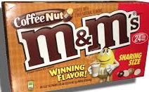 M & M COFFEE NUT SHARE SIZE BOX/24