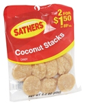 SATHERS COCONUT STACKS 2/$1.50