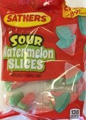SATHERS WATERMELON SLICES 2/$1.50