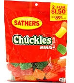 SATHERS MINI CHUCKLES 2/$1.50