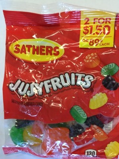 SATHERS JUJY FRUITS 2/1.50