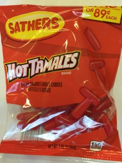 SATHERS HOT TAMALES 2/$1.50