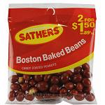SATHERS BOSTON BAKED BEANS 2/$1.50