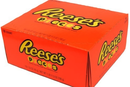 REESE PIECES BOX 18