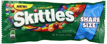 SKITTLES ORCHARDS KING SIZE BOX/24