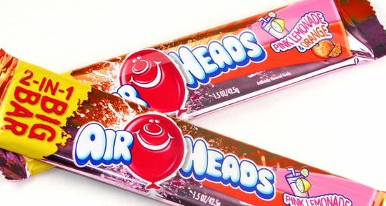 AIRHEADS BIG BAR PNK/LEMON/ORANGE